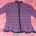 Poetry in Stitches cardigan page 122
