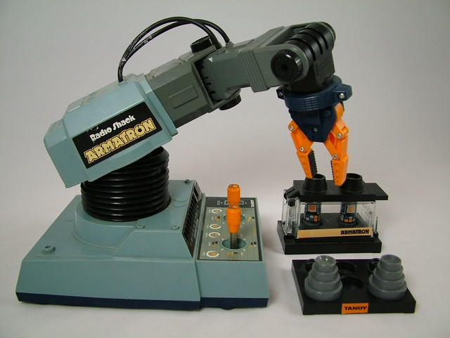 80s Toys For Boys : Radio shack armatron flickr photo sharing