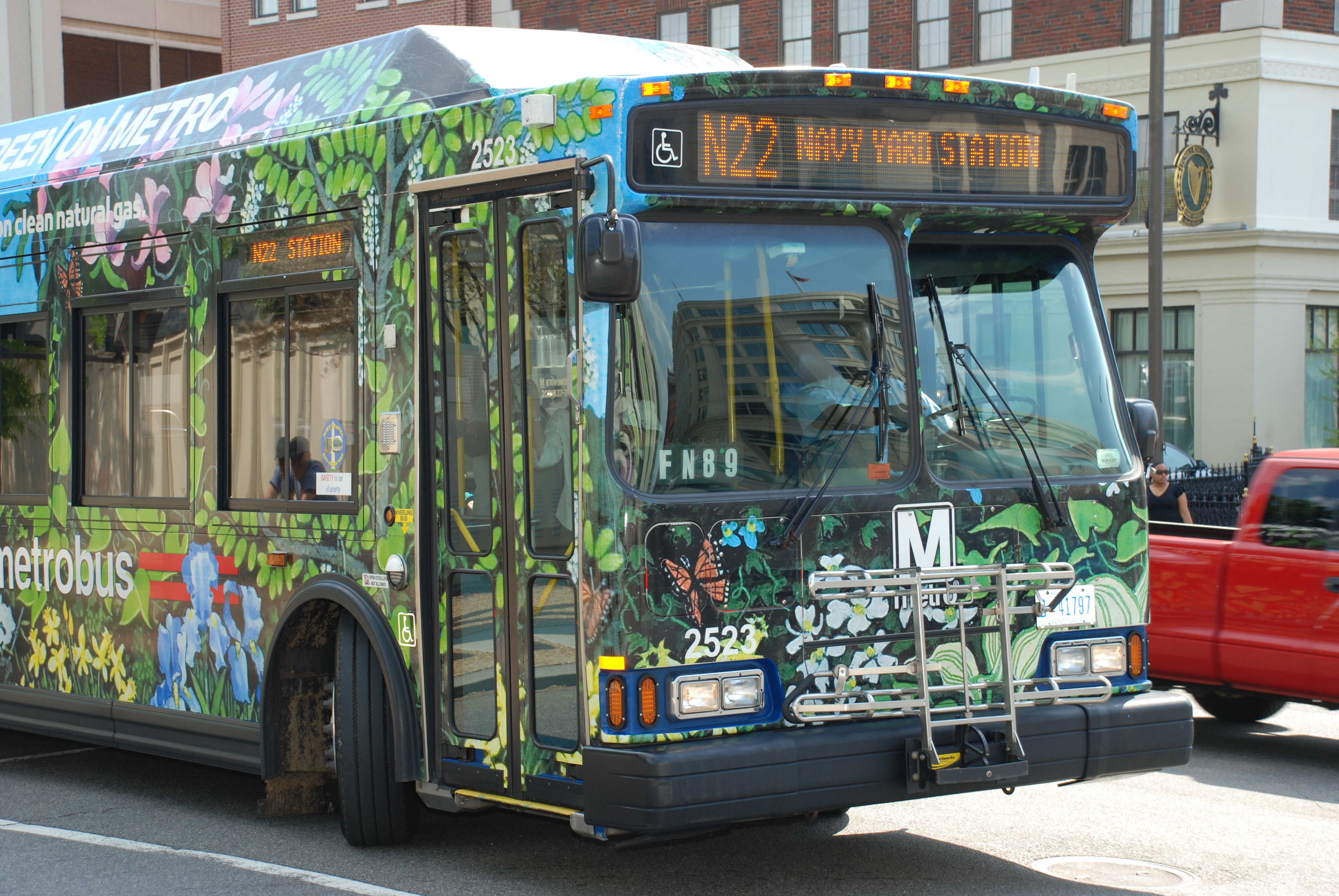 Metro Bus Cleaners Dc : Dc bus go green on metro flickr photo sharing