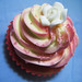 Strawberry Marble Cupcakes with Vanilla-Rose Buttercream