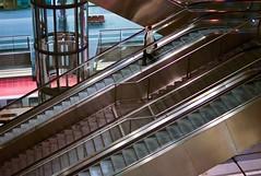 handrail, transport, architecture, escalator, stairs,