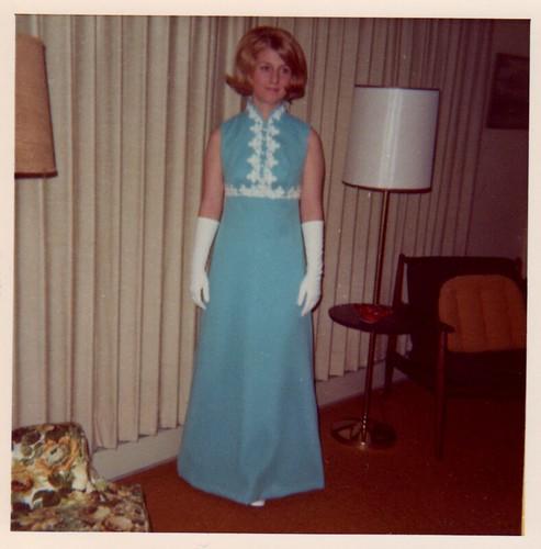Kathy - Prom - Jun, 1970