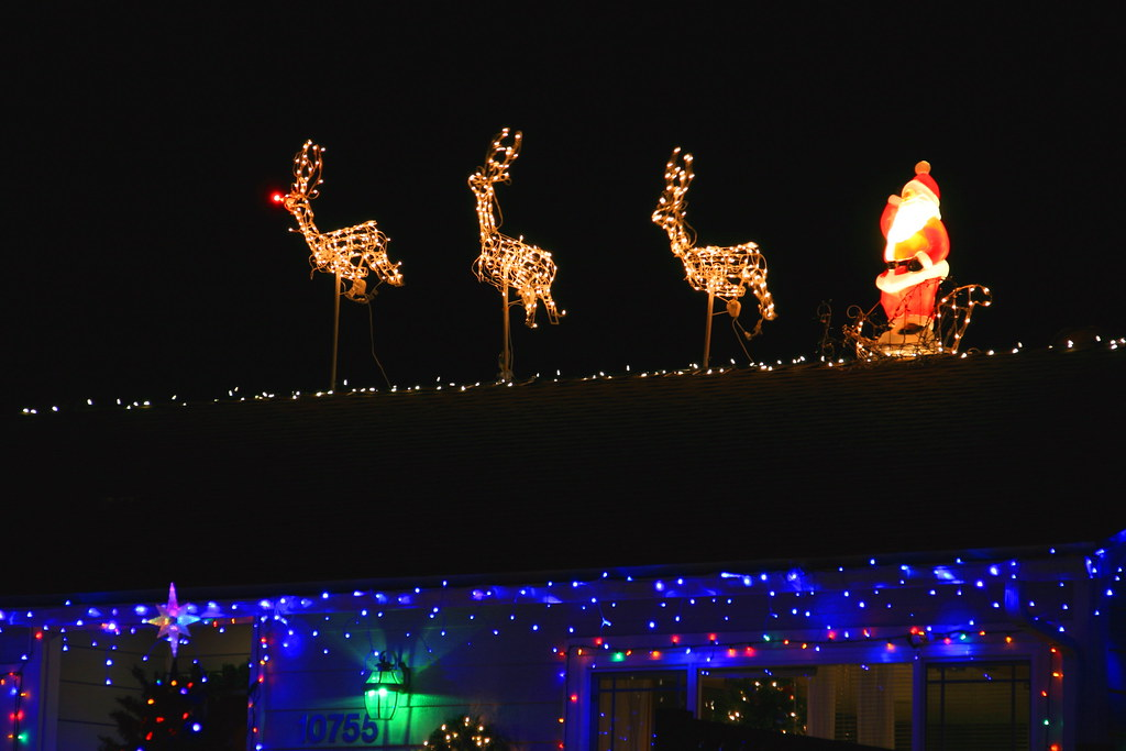 Up On The Housetop Reindeer Pause Out Jumps Good Ol