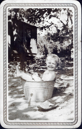 At bath...