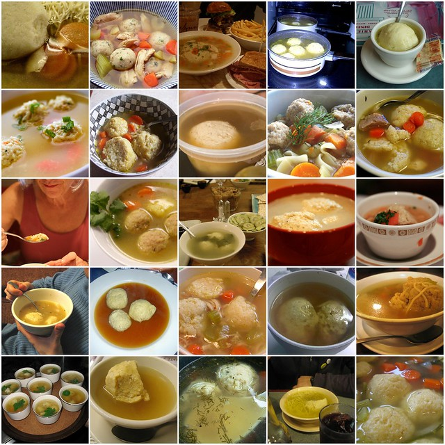 matzo ball soup mosaic | Flickr - Photo Sharing!