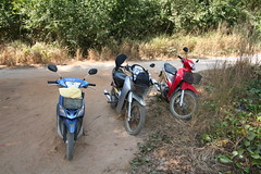 trail, moped, soil, vehicle, motorcycle,