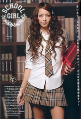 Namie Amuro as Japanese School Girl