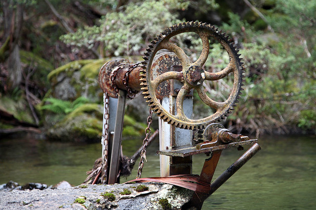 The old winch