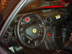 automobile, wheel, vehicle, performance car, automotive design, ferrari f430, steering wheel, land vehicle, luxury vehicle,