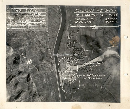 Calliano, 30 dic 1944 - U.S. Report