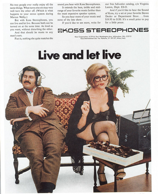 Koss Stereophones - 1971