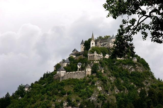 El Castillo de Hochosterwitz, Carintia, Austria.