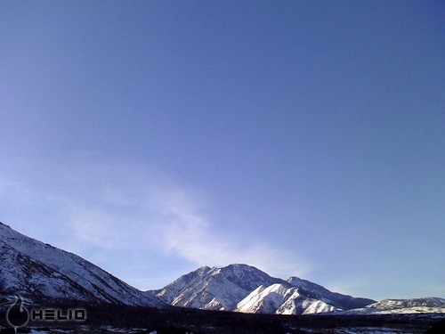winter sky snow mountains home clouds sunrise utah santaquin