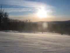 au sommet du centre de ski le Relais