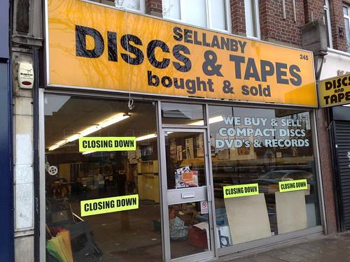 An era ends - Sellanby Discs & Tapes