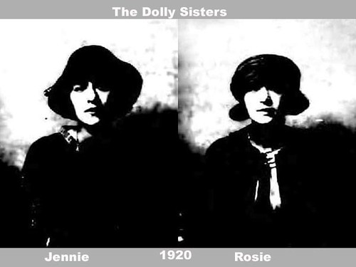 The Dolly Sisters 1920 - Passport Photos