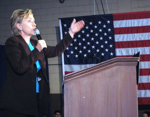 Then Senator Hillary Clinton Campaigning for Barack Obama Winter Park, Fla., Sat., Nov. 1, 2008.