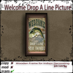 Welcome Drop a Line Pic