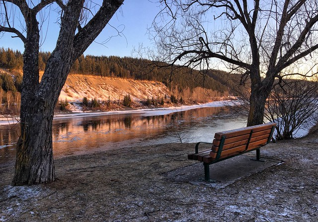 Fraser River in Prince George