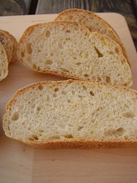 Tender Potato Bread with lemon