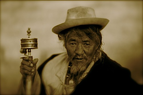 Man in Lhasa