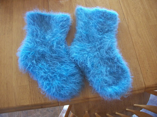 Fuzzy Mohair Slippers Flickr Photo Sharing