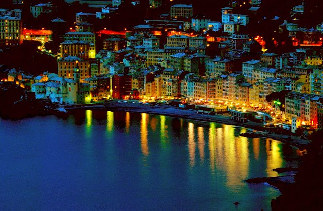 Camogli by night