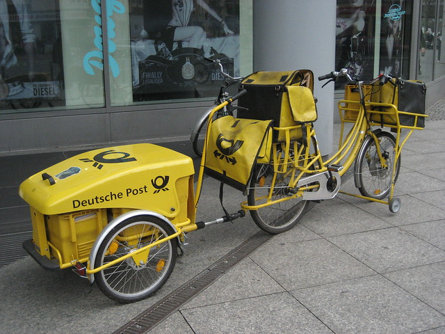 Pedalpower in gelb