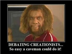 Debating creationists