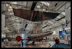 Bristol 188 Experimental Aircraft_RAF Museum Cosford_England