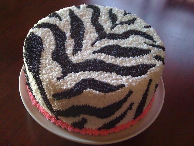 Cake Decorating Striped Icing : Zebra Cake Flickr - Photo Sharing!