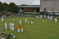 cricket(0.0), baseball field(0.0), football(0.0), bat-and-ball games(0.0), stadium(0.0), lawn game(1.0), sport venue(1.0), sports(1.0), team sport(1.0), ball game(1.0), lawn(1.0), tournament(1.0),