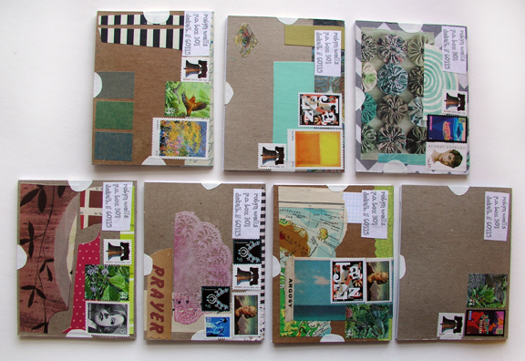 5.20 Mailart books backs