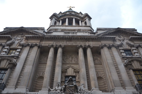 The Old Bailey, east London