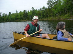 Canoeing in Boundary Waters
