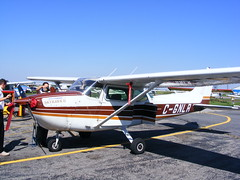 aviation, airplane, propeller driven aircraft, wing, vehicle, cessna 172, flight, aircraft engine,