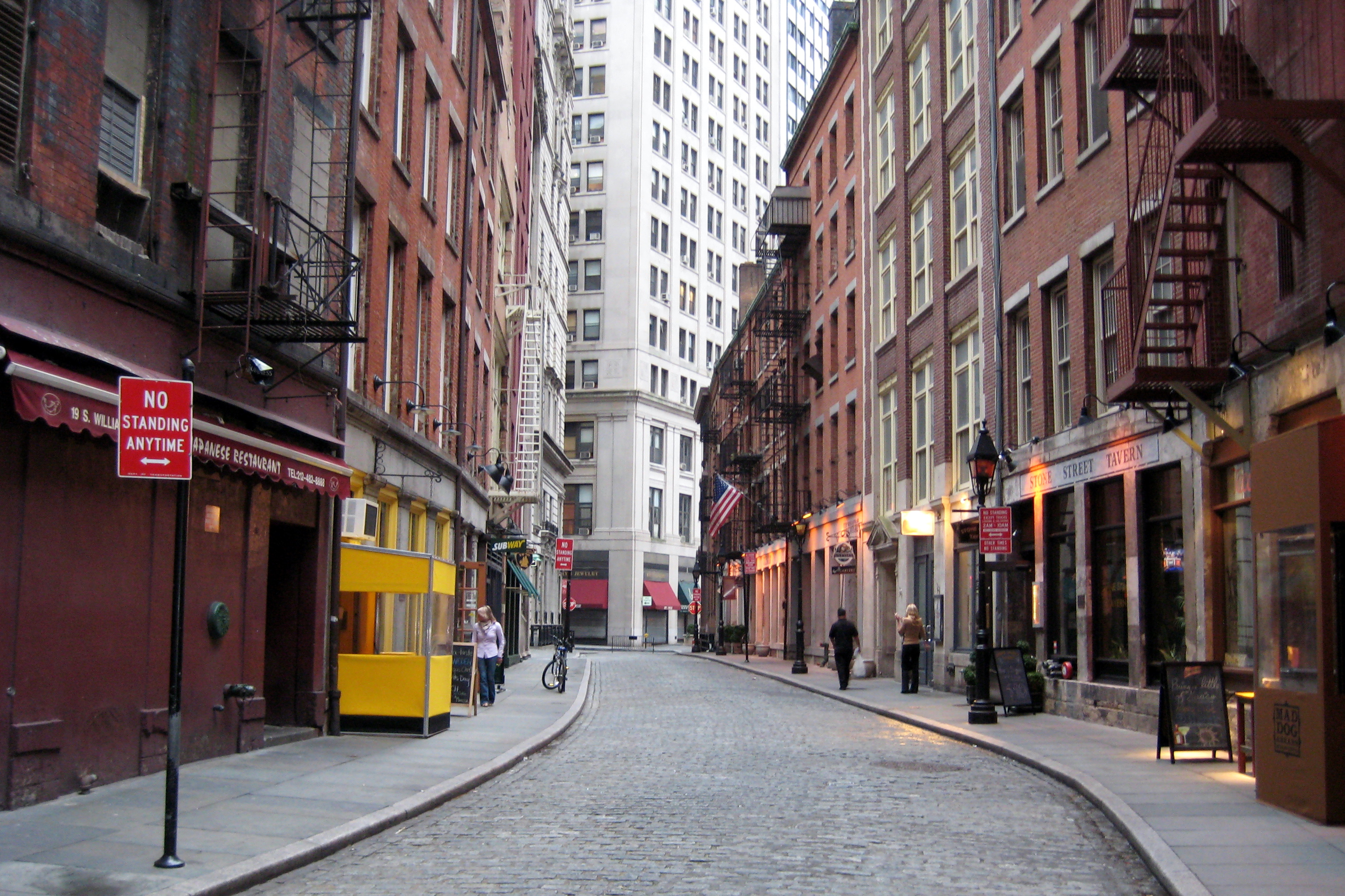 NYC - Stone Street | Flickr - Photo Sharing!