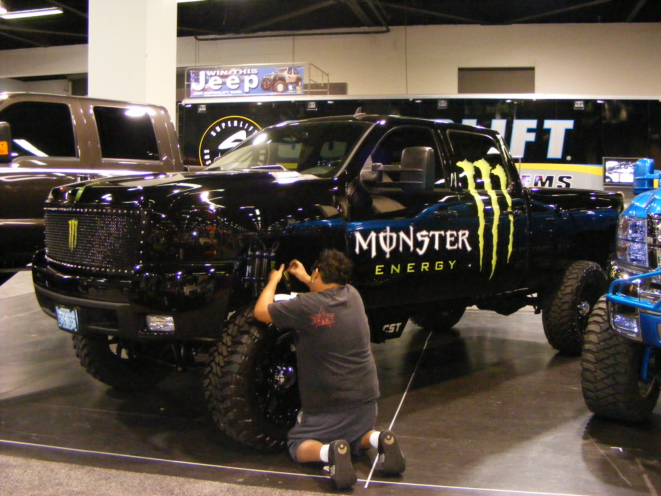 Image Result For Monster Truck Christmas