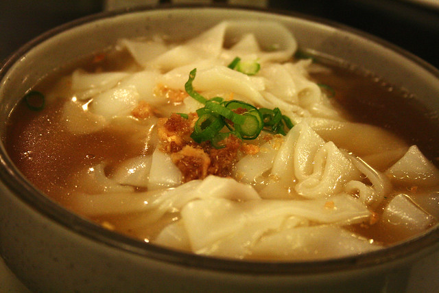 Rice Cake Noodle Soup
