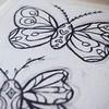 Fuori nebbia e freddo, dentro farfalle. Buon pomeriggio! . . . #farfalle #butterfly #workinprogress #illustrationworks