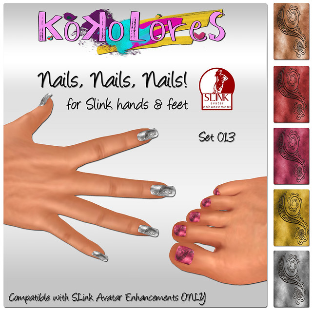 [KoKoLoReS] Nails, Nails, Nails! Set 013
