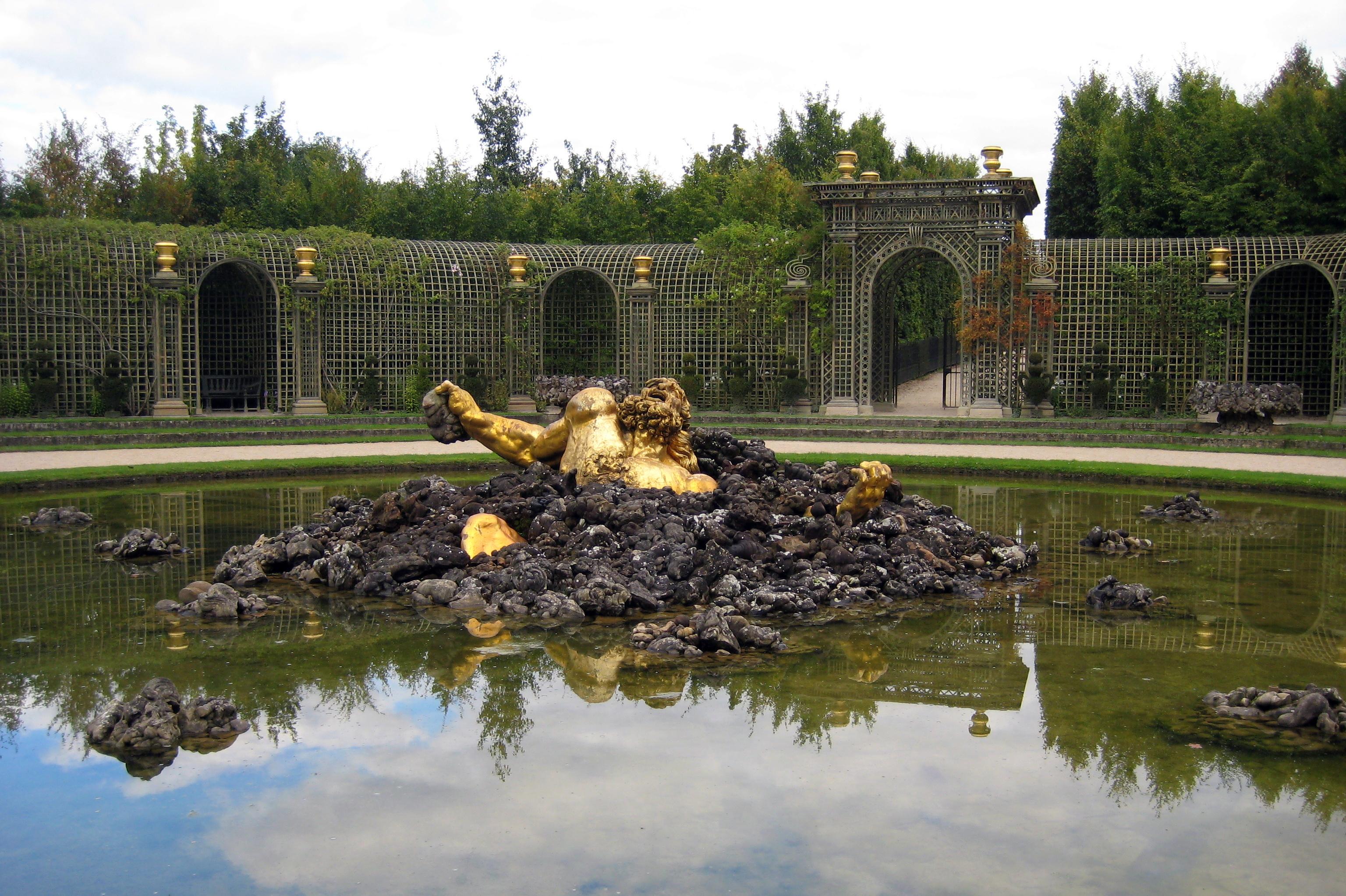 Versailles jardins du ch teau de versailles bosquet de for Jardin chateau de versailles