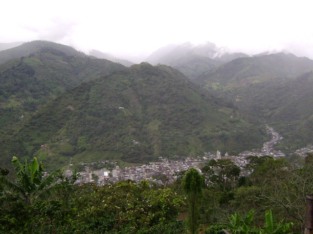 Imagen Panorámica de Génova, Quindio
