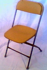 ... Folding Chair Gold ...