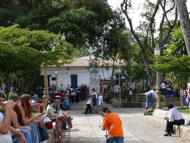 Plaza Bolivar  de San Diego De Los Altos ,Estado Miranda - Venezuela