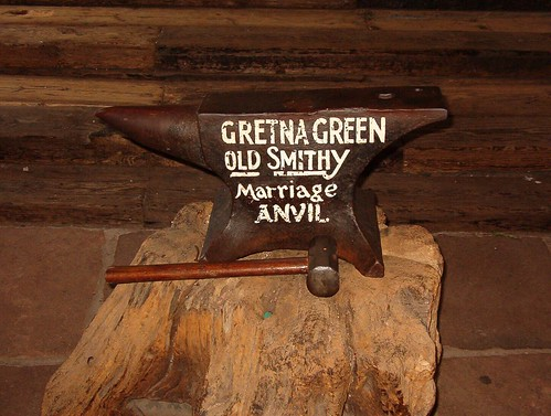 Gretna Green Anvil