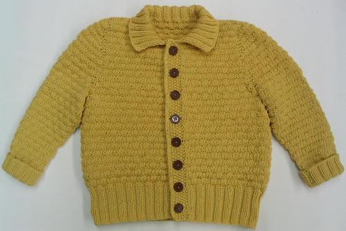 Basket Weave Vest Pattern : Basket weave baby cardigan knitting pattern sweater vest