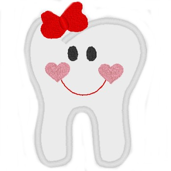 tooth machine embroidery designs