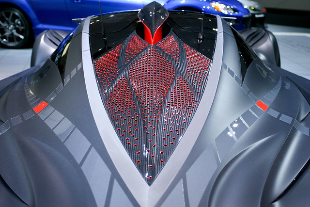 Mazda Furai 2008 Concept (top view)