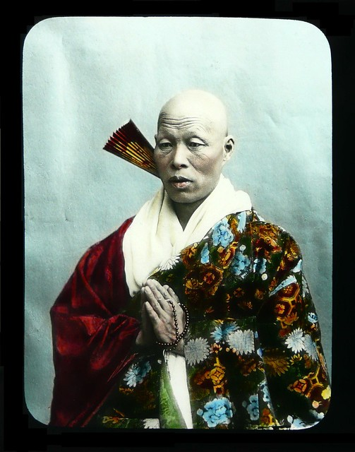 JAPANESE HIGH PRIEST PRAYING --